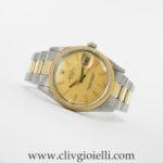 Rolex Date ref. 15053 Acciaio e Oro Plexy