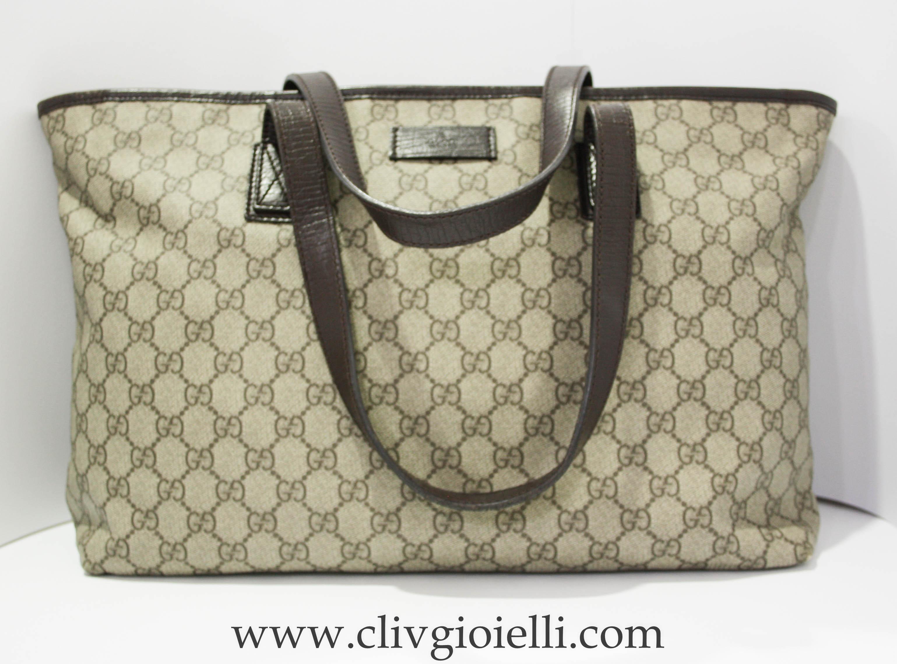 7bc81f7f0d Borsa Gucci Shopping | Cliv | Gioielli ed Orologi