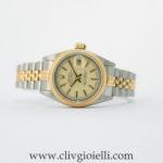 Rolex Lady-Datejust 26 mm Acc/Oro Zaffiro